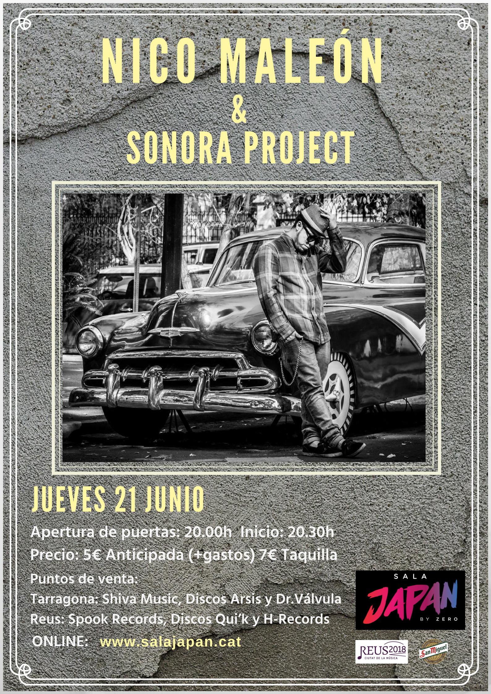 Nico Maleon & Sonora Project