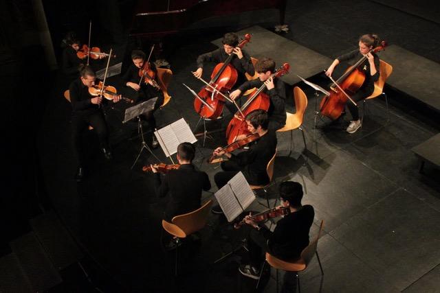 Divendres Musicals, amb l'Orquestra de l'Escola de Música del Centre de Lectura
