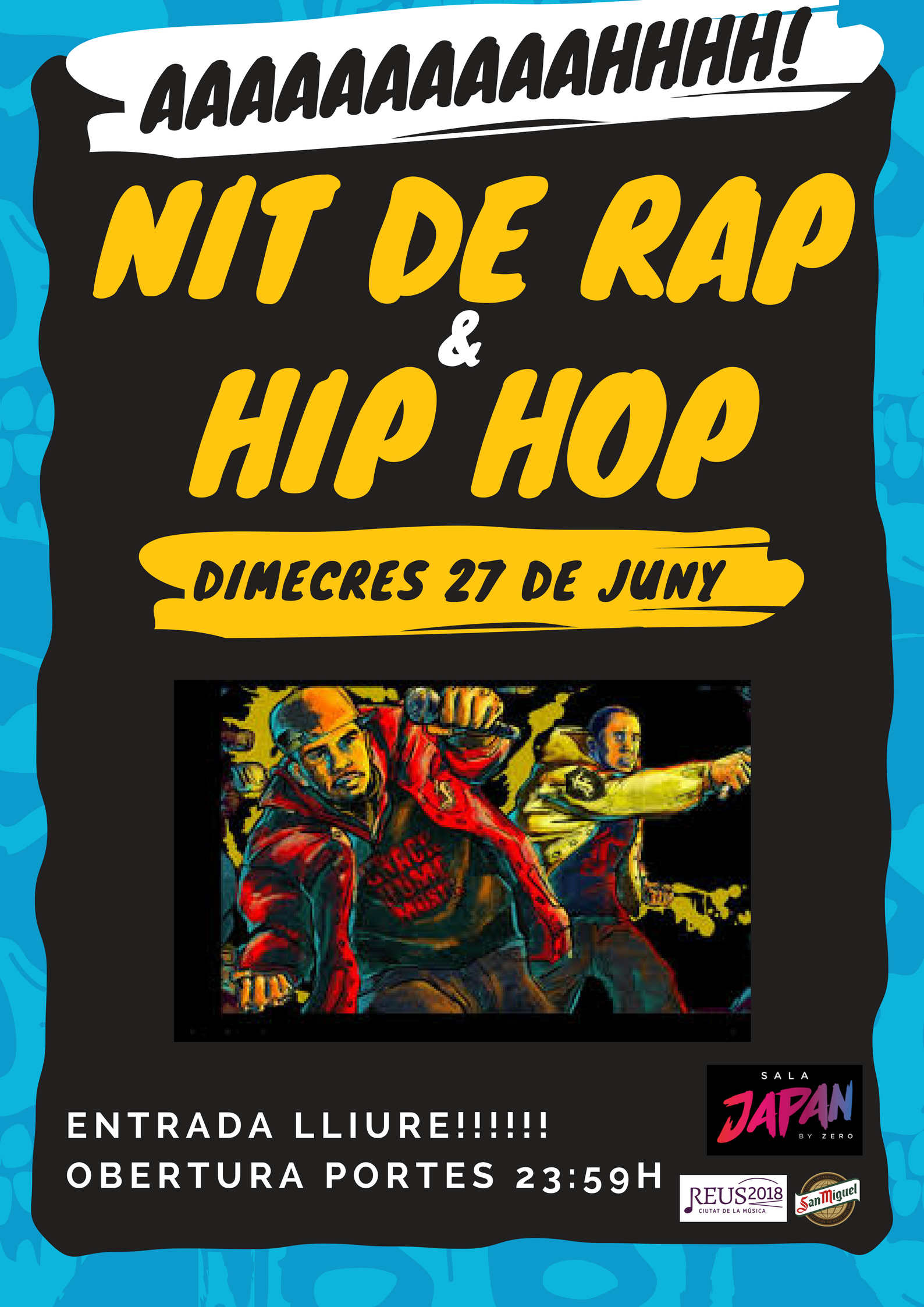 Nit de Rap i Hip-hop a la Japan