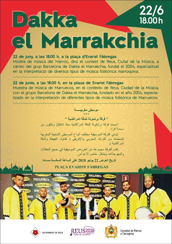 Actuació de Barcelona de Dakka el Marrakchia