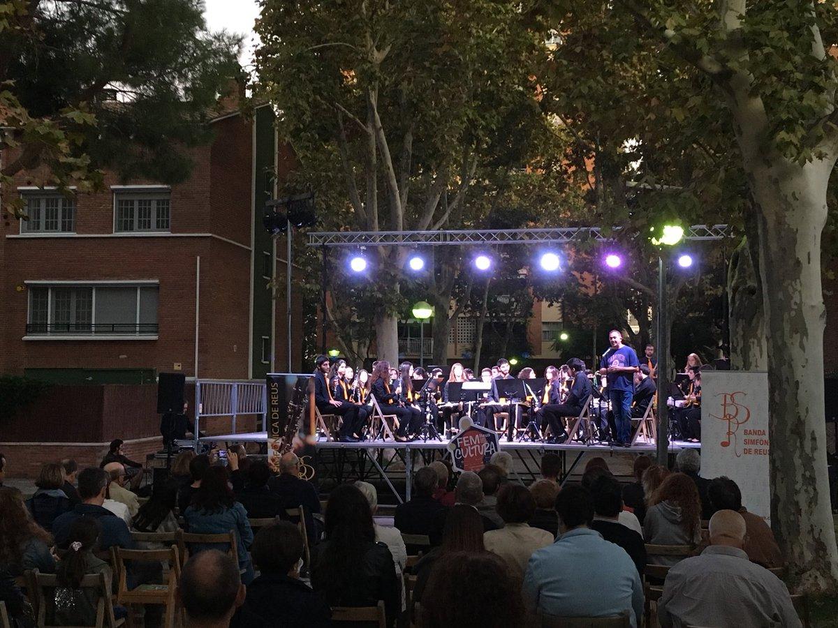 CICLE MÚSICA ALS BARRIS - Concert de la Banda Simfònica de Reus