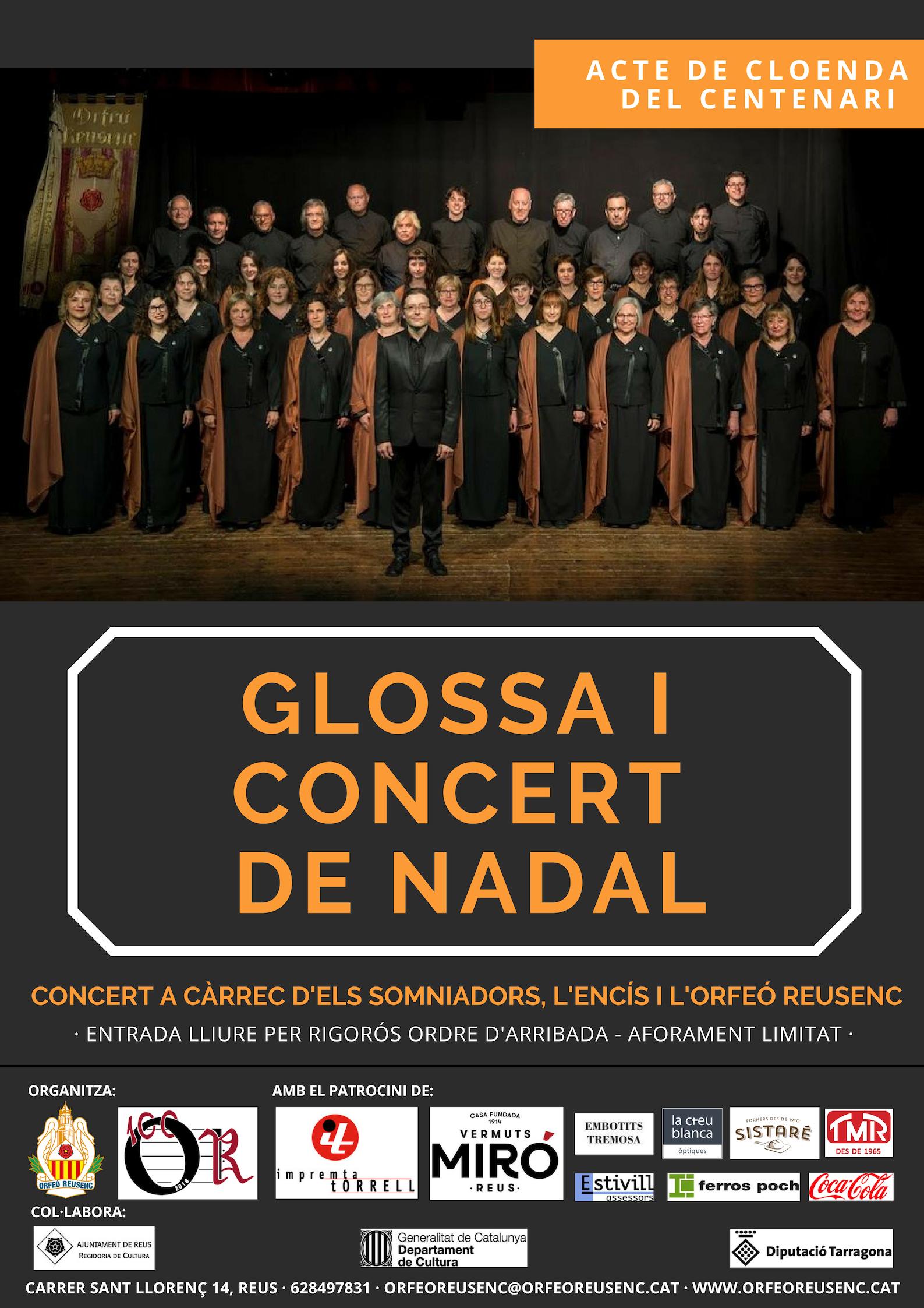 Glossa i concert de Nadal